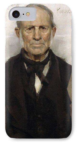 Old Willie - The Village Worthy, 1886 Phone Case by Sir James Guthrie
