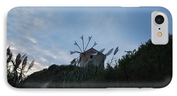 Old Wind Mill 1830 IPhone Case by George Katechis