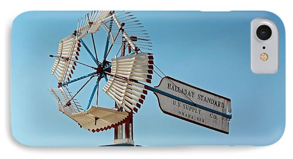 Old Windmill IPhone Case by Jim West