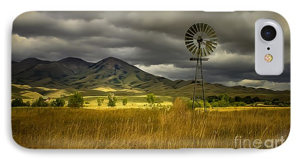Old Windmill Phone Case by Robert Bales