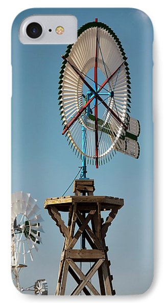 Old Windmills IPhone Case by Jim West