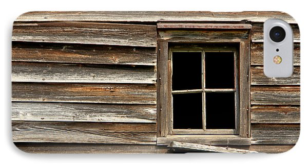 Old Window And Clapboard Phone Case by Olivier Le Queinec