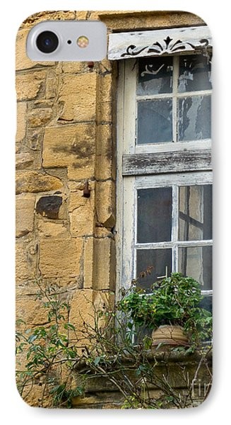 IPhone Case featuring the photograph Old Window In France by Paul Topp