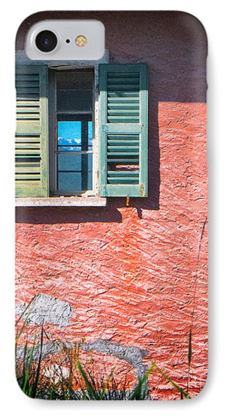IPhone 7 Case featuring the photograph Old Window With Reflection by Silvia Ganora