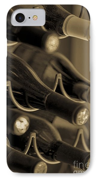 Old Wine Bottles IPhone Case by Diane Diederich