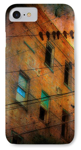 Old Wires IPhone Case by Gothicrow Images