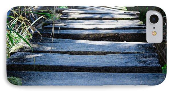 Old Wodden Bridge IPhone Case by Aged Pixel
