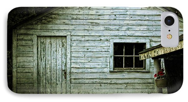 Old Wooden Building Onaping Phone Case by Marjorie Imbeau