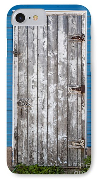 Old Wooden Door IPhone Case by Elena Elisseeva