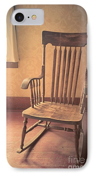 Old Wooden Rocking Chair IPhone Case