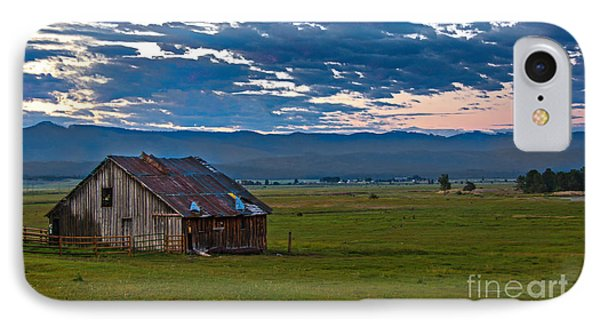 Old Working Barn Phone Case by Robert Bales