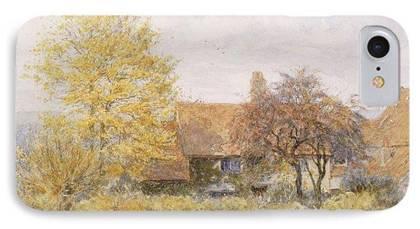 Old Wyldes Farm IPhone Case by Helen Allingham