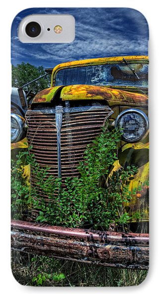 IPhone Case featuring the photograph Old Yeller by Ken Smith