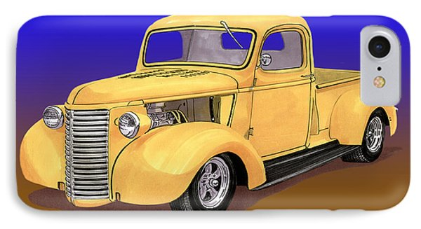 Old Yeller Pickem Up Truck Phone Case by Jack Pumphrey