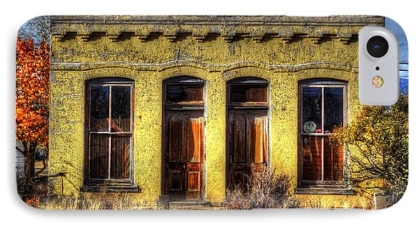 Old Yellow House In Buena Vista IPhone Case by Lanita Williams