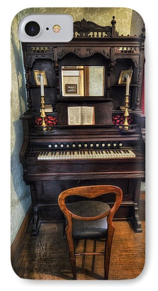 Olde Piano IPhone Case by Ian Mitchell