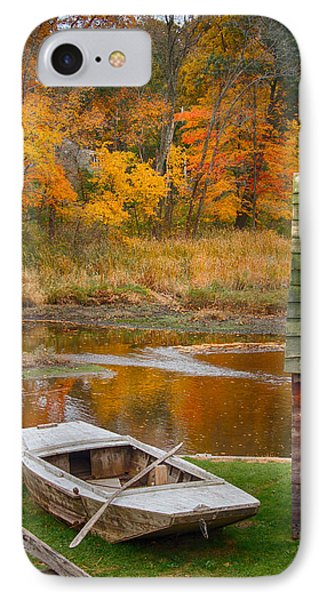 IPhone Case featuring the photograph Olde Tyme Colors by Jeff Folger