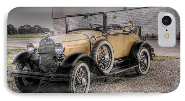 IPhone Case featuring the photograph Old Ford Model A Coupe by Dyle   Warren