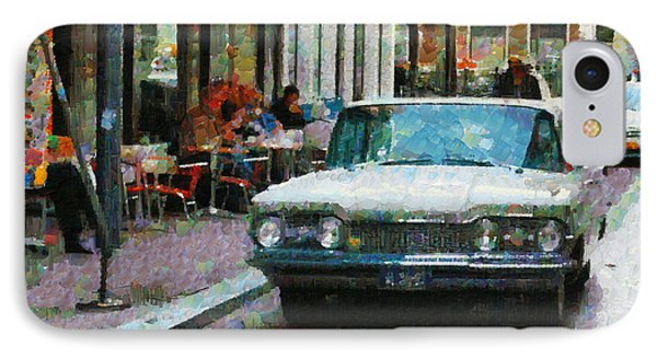 Oldsmobile In Amsterdam IPhone Case by Mick Flynn