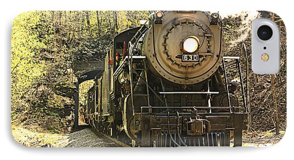 IPhone Case featuring the photograph Ole' #630 Steam Train by Tammy Schneider