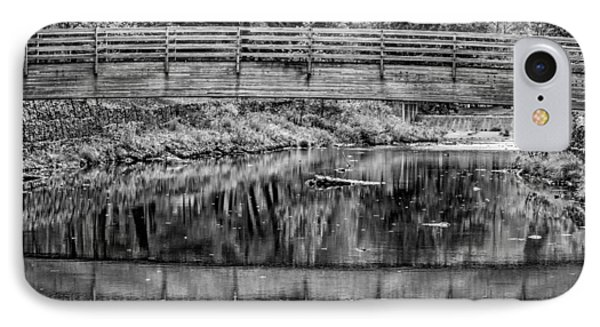 Ole Bull State Park 3 Bw IPhone Case