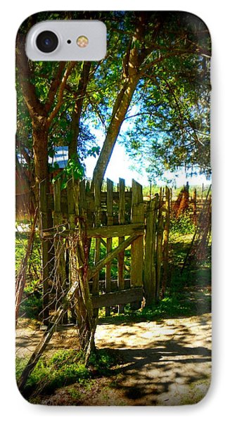 Ole Garden Gate Phone Case by Sheri McLeroy