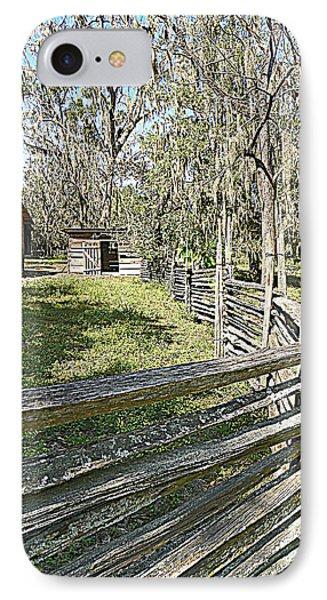 Ole Horse Barn IPhone Case