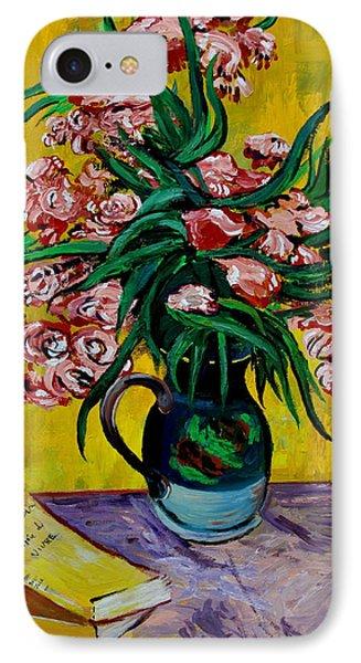 Oleanders Phone Case by Karon Melillo DeVega
