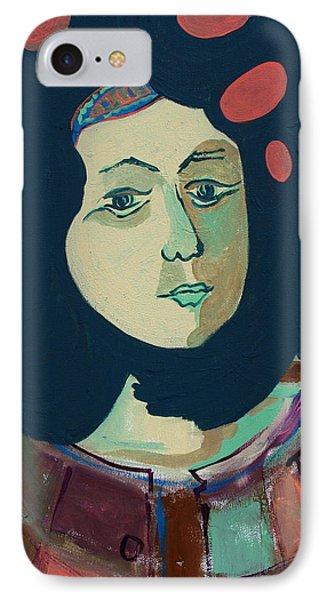 Olga  Phone Case by Oscar Penalber