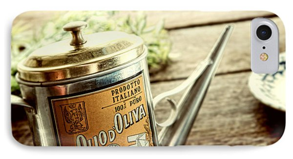 Olio D'oliva  Phone Case by Olivier Le Queinec