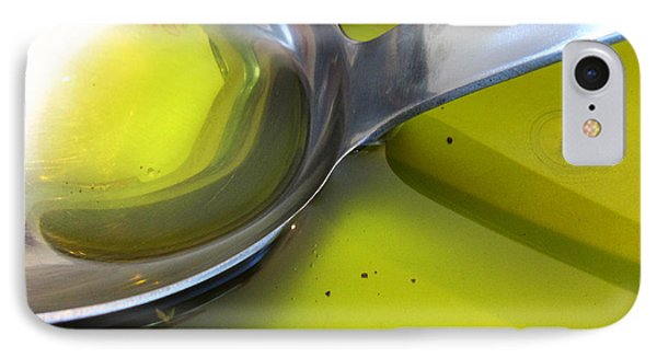 Olive Oil And Ladle IPhone Case by Alexandros Daskalakis