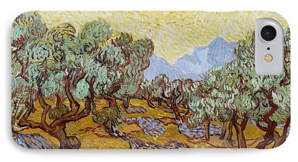 Olive Trees Phone Case by Vincent Van Gogh