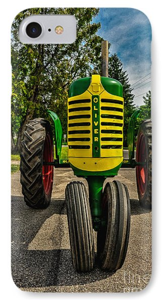 IPhone Case featuring the photograph Oliver Row Crop Ogdensburg Puller by Trey Foerster