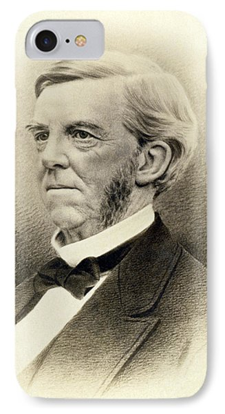 Oliver Wendell Holmes IPhone Case by Underwood Archives