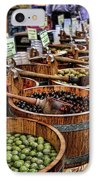Olives Phone Case by Heather Applegate