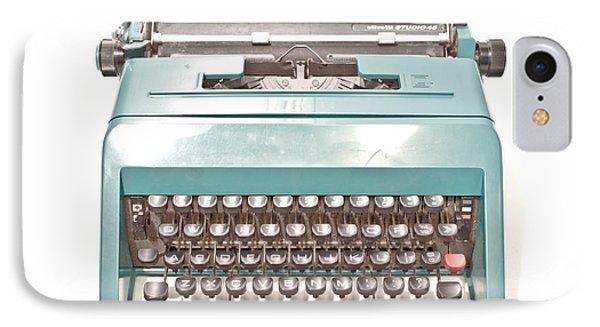 Olivetti Typewriter 1 IPhone Case
