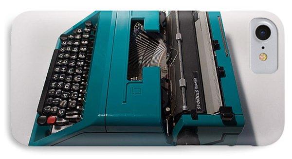 Olivetti Typewriter 10 IPhone Case