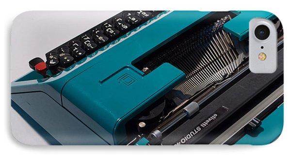 Olivetti Typewriter 11 IPhone Case