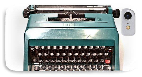 Olivetti Typewriter 13 IPhone Case