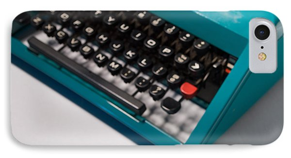 Olivetti Typewriter Soft Focus IPhone Case