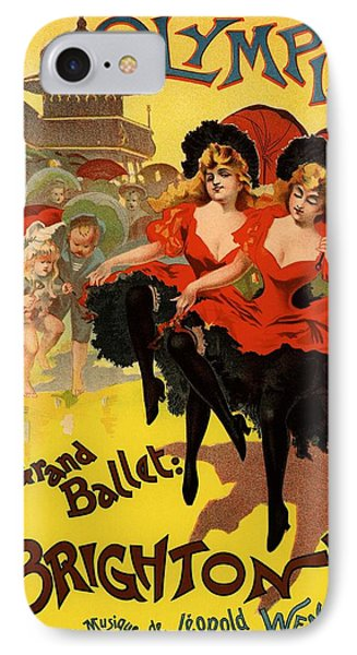 Olympia Grand Ballet Brighton Phone Case by Gianfranco Weiss