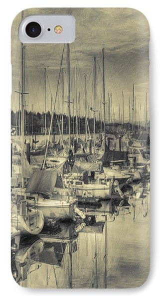 IPhone Case featuring the photograph Olympia Marina 3 by Jean OKeeffe Macro Abundance Art