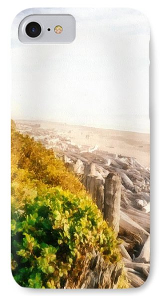 Olympic Peninsula Driftwood Phone Case by Michelle Calkins