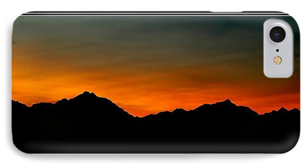 Olympic Sunset IPhone Case by John Bushnell