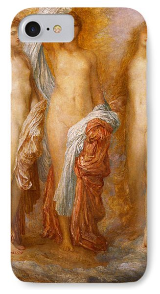 Olympus On Ida IPhone Case by George Frederic Watts
