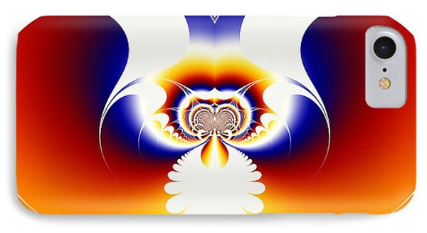 Om Series - 14 IPhone Case by M Rao