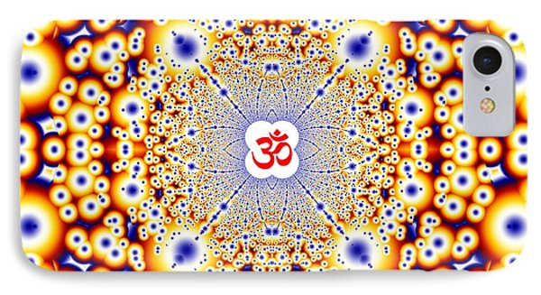 Om Series - 41 IPhone Case by M Rao