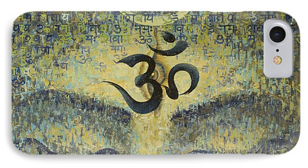 OM Phone Case by Vrindavan Das