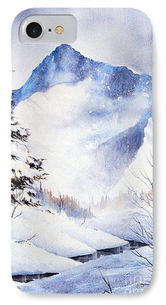 IPhone Case featuring the painting O'malley Peak by Teresa Ascone