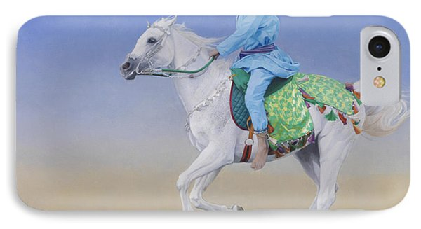 Oman Cavalryman IPhone Case by Emma Kennaway